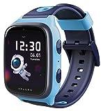 XPLORA 4 - wasserdichte Telefon Uhr für Kinder (SIM-frei) - 4G, Anrufe, Nachrichten, Schulmodus, SOS-Funktion, GPS, Kamera und Schrittzähler - 2 Jahre Garantie (XPLORA 4 BLAU)